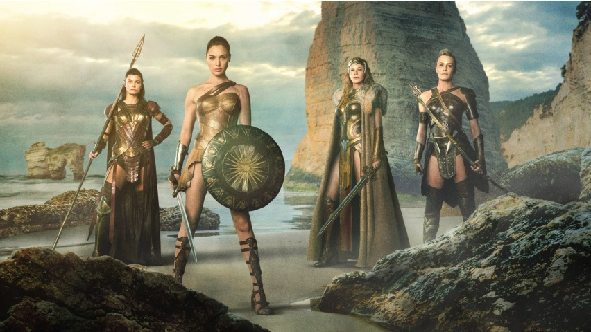 Diana and the Amazons of Themyscira